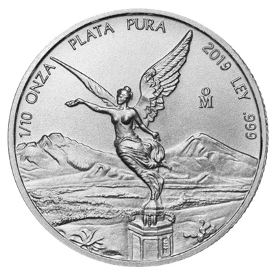 2019 1/10th oz Silver LIBERTAD - NOW IN STOCK